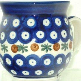 Ceramika Artystyczna Bubble Cup Large Royal Cranberry