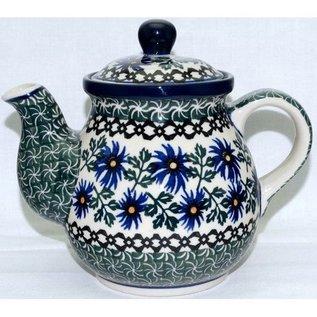 Ceramika Artystyczna Bedtime Teapot Size 1 Periwinkle