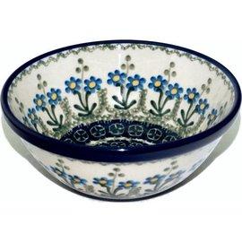 Ceramika Artystyczna Kitchen Bowl Size 1 Poppies Blue