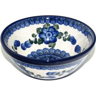 Ceramika Artystyczna Kitchen Bowl Size 1 Blue Rose