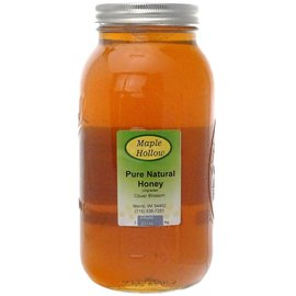 Maple Hollow Honey Clover Blossom Glass, Extra Large 6 lb.