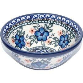Ceramika Artystyczna Kitchen Bowl Size 2 Apple Blossom Blue