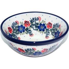 Ceramika Artystyczna Kitchen Bowl Size 2 Vintage Floral