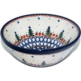 Ceramika Artystyczna Kitchen Bowl Size 2 Starry Night Green