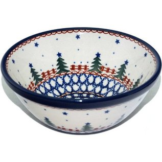 Ceramika Artystyczna Kitchen Bowl Size 2 Starry Night Green