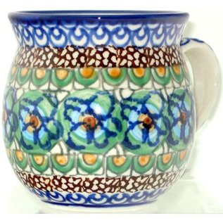 Ceramika Artystyczna Bubble Cup Small Cottage Green Signature 3.5