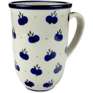 Ceramika Artystyczna Bistro Cup Double Blueberry