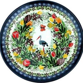 Ceramika Artystyczna Dinner Plate Paradise Signature