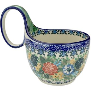 Ceramika Artystyczna Soup Cup Hummingbird Signature