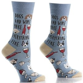 Sox Womens: Dogs & Wine