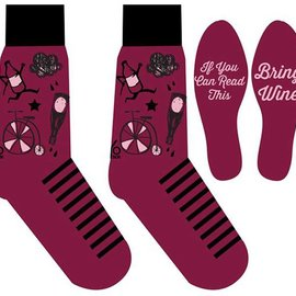 Sox Womens Wine & Bicycles Size: 6-10