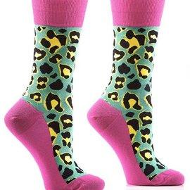 Sox Womens Leopard Print Size: 6-10