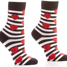 Sox Womens Hearts Size: 6-10