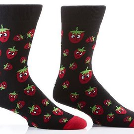 Sox Mens Strawberries Size: 7-12