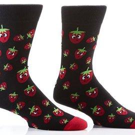 Sox Mens Strawberries Size: 7-12