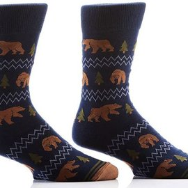 Sox Mens Forest Bears Size: 7-12