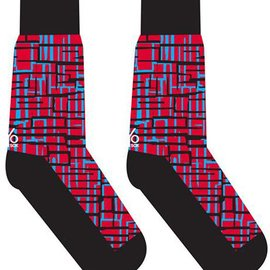 Sox Mens Festive Plaid Size: 7-12