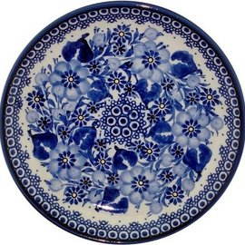 Ceramika Artystyczna Luncheon Plate Elegance (In Blue) Signature