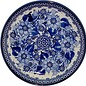 Ceramika Artystyczna Luncheon Plate Elegance (In Blue) Signature