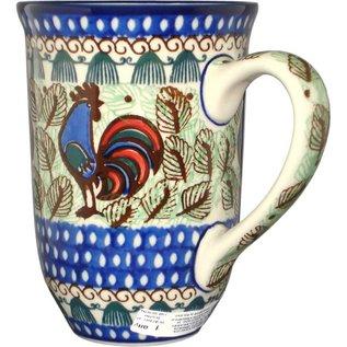 Ceramika Artystyczna Bistro Cup Rooster (Chanticleer) Signature