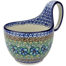 Ceramika Artystyczna Soup Cup Cottage Green Signature