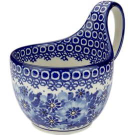 Ceramika Artystyczna Soup Cup Elegance (In Blue) Signature