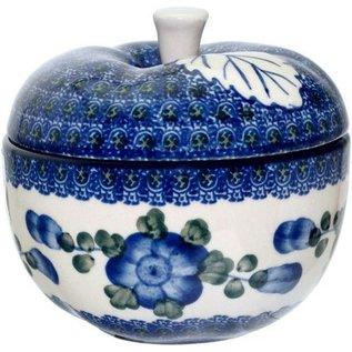 Ceramika Artystyczna Apple Baker Blue Rose
