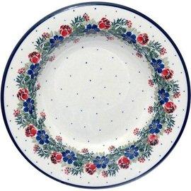 Ceramika Artystyczna Pasta Bowl Vintage Floral
