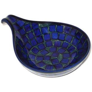 Ceramika Artystyczna Spoon Rest Size 2 Tiles Signature