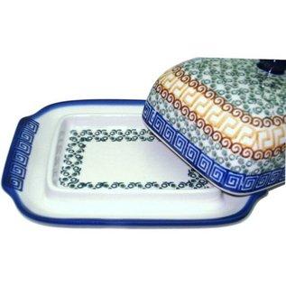 Ceramika Artystyczna Domed Butter Dish Autumn