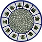 Ceramika Artystyczna Bread & Butter Plate Evergreen