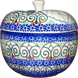Ceramika Artystyczna Apple Baker Stained Glass