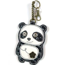 Coin Purse Key Fob Panda