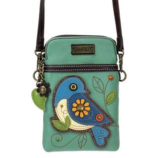 Cellphone Crossbody Bluebird - Teal
