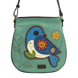 Crossbody Bluebird Teal