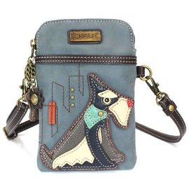 Cellphone Crossbody Schnauzer Indigo
