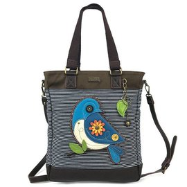 Work Tote Bluebird - Denim Stripe