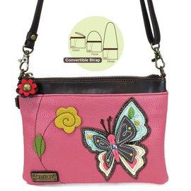 Mini Crossbody Butterfly - Pink