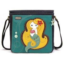 Messenger Bag Mermaid - Turquoise