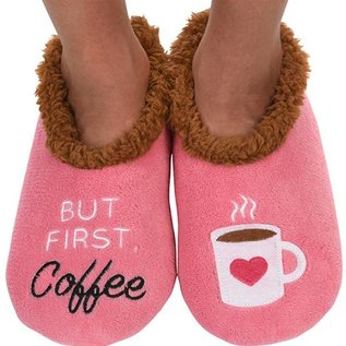 Snoozie But First Coffee Pink
