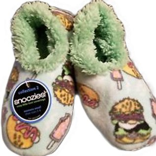 Snoozies Fast Food Blue XL 11/12