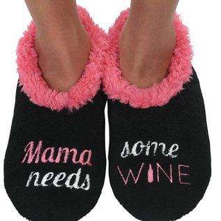 Snoozie Mamma Needs Some Wine Black