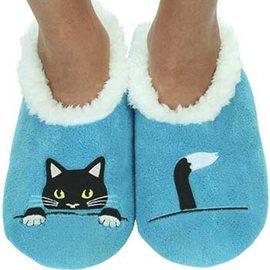 Snoozies Peek-a-Boo Cat Blue