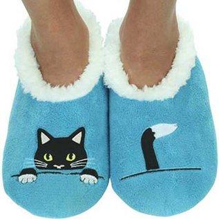 Snoozie Peek-a-Boo-Cat Blue