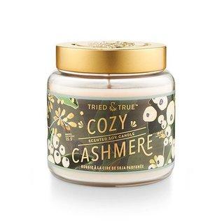 Lg Candle Jar, Cozy Cashmere
