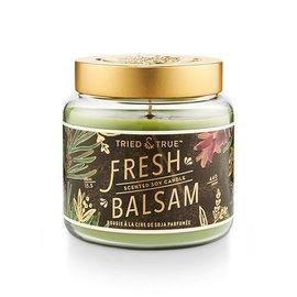 Lg Candle Jar, Fresh Balsam
