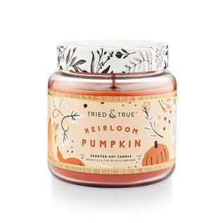 Lg Candle Jar, Heirloom Pumpkin