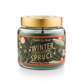 Lg Candle Jar, Winter Spruce