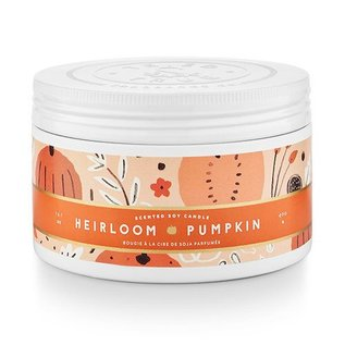 Lg Candle Tin, Heirloom Pumpkin