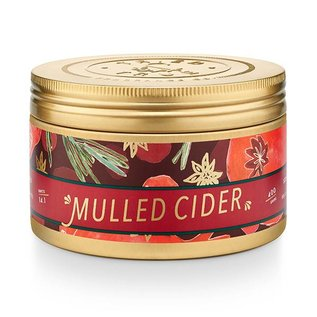 Lg Candle Tin, Mulled Cider